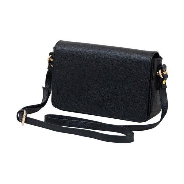Čierna kabelka z pravej kože Andrea Cardone Nicol