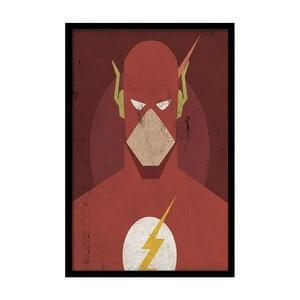 Plagát Red Flash, 35x30 cm