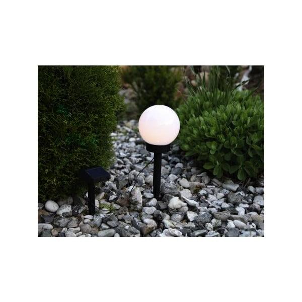 Záhradné solárne LED svetlo Best Season Globe Stick, ⌀ 15 cm