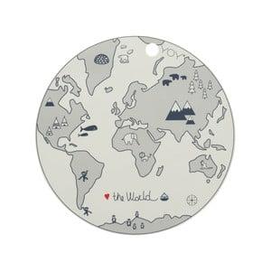 Detské silikónové prestieranie OYOY World, ⌀ 39 cm