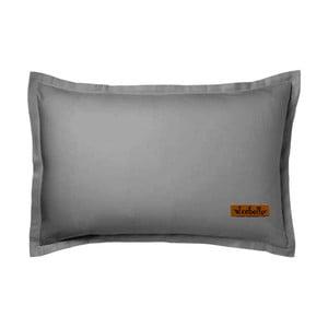 Sivá obliečka na vankúš Atelie Lisos, 50x70cm