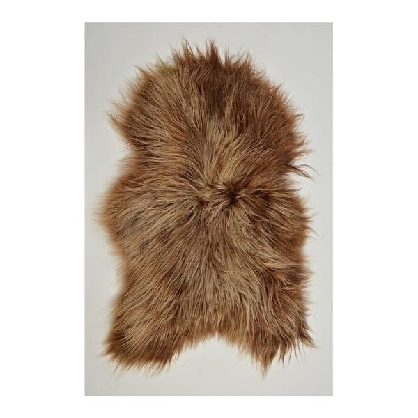 Ovčia kožušina s dlhým vlasom Brisa, 100x60cm