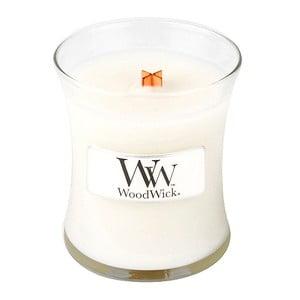 Vonná sviečka WoodWick Čistá bielizeň , 85g, 20 hodín