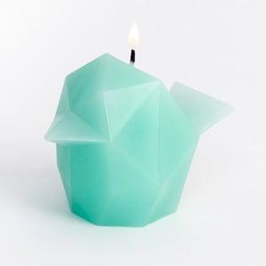 Sviečka Pyropet Bíbí Mint Green