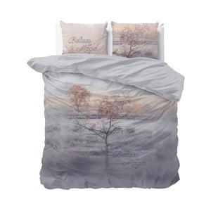 Bavlnené obliečky na dvojlôžko Sleeptime Dream Tree, 240×220 cm