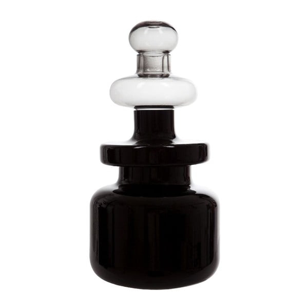 Váza Flower Tower, čierna