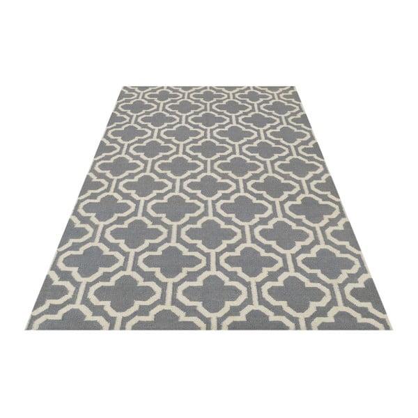 Vlnený koberec Penelope Grey, 140x200 cm
