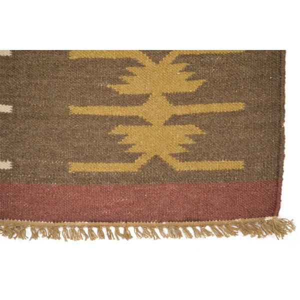 Vlnený koberec Kilim no. 75, 140x200 cm