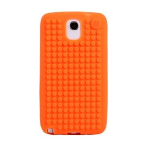 Pixelový obal na Samsung Note 3, oranžová