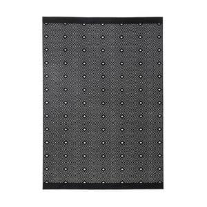 Čierny koberec Zala Living Quadrangle, 70×140cm