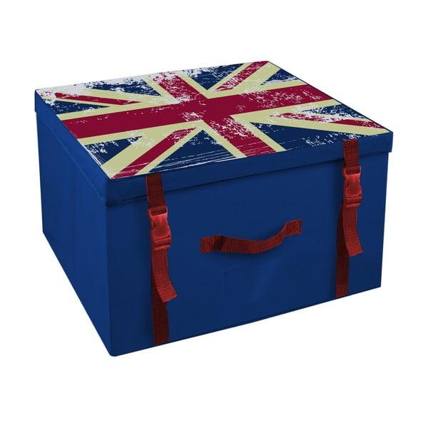 Úložná krabica Ordinett Union Jack,50x40cm