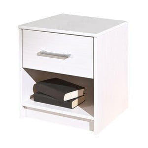 Biely nočný stolík 13Casa Color