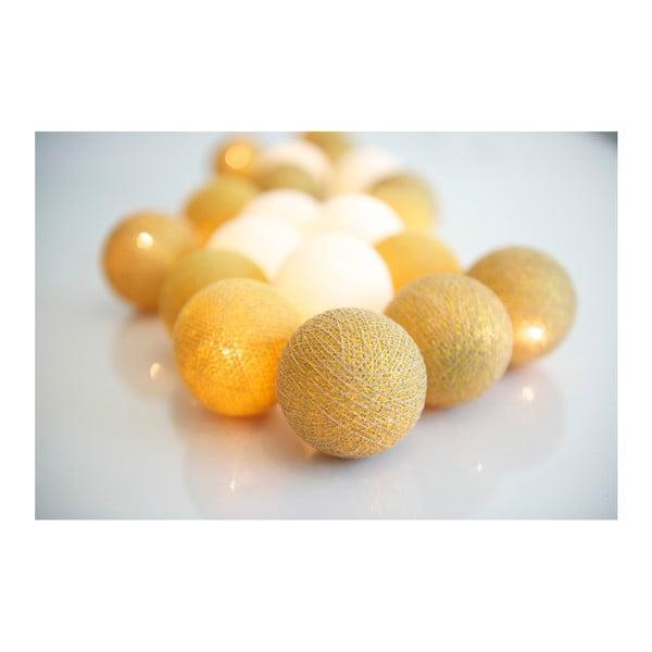 Svietiaca reťaz Irislights Gold, 35 svetielok