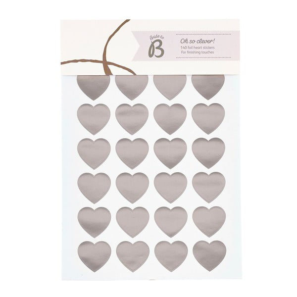 Štítky Busy B Wedding Heart