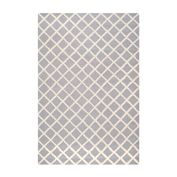 Vlnený koberec Sophie Light Blue Grey, 182x274 cm
