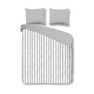Obliečky Grey Stripes, 200x200 cm