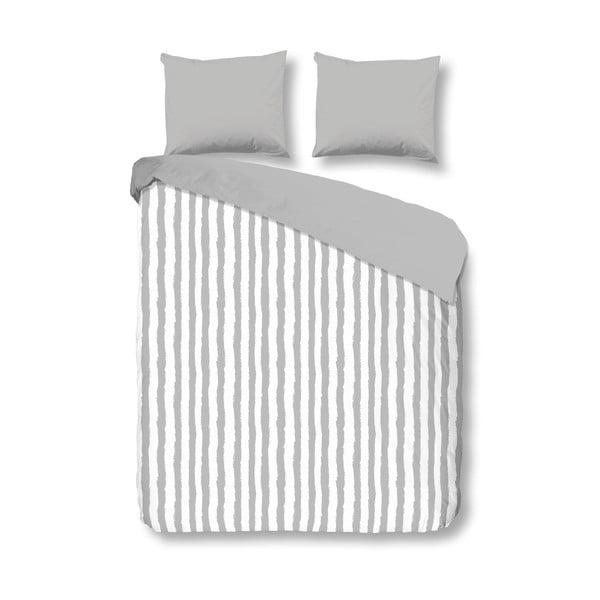 Obliečky Grey Stripes, 240x200 cm