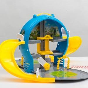 Detský hrací parkovací dom v kufríku InnovaGoods Car Park With Case