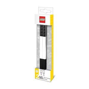 Sada 2 čiernych gélových pier LEGO®