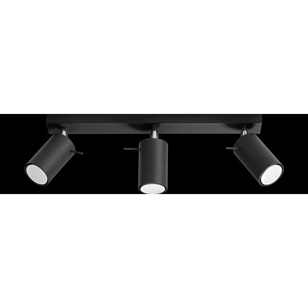 Čierne stropné svetlo Nice Lamps Ethno 3