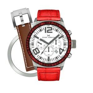 Dámske hodinky Marc Coblen s remienkom a krúžkom na ciferník naviac P74