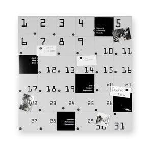 Magnetický kalendár Remember, 80x80 cm
