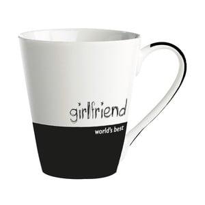 """Porcelánový hrnček """"World's best girlfriend"""""""