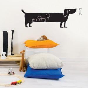 Samolepiaca tabuľa na stenu Dog