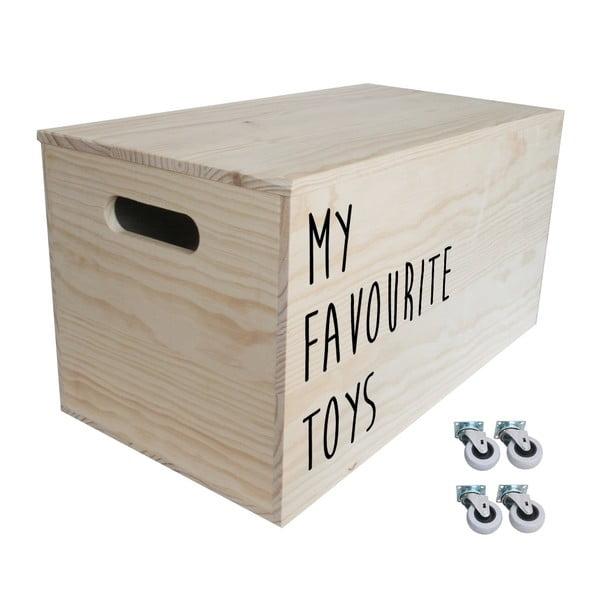 Box na kolieskach Toys, 52x27x27 cm