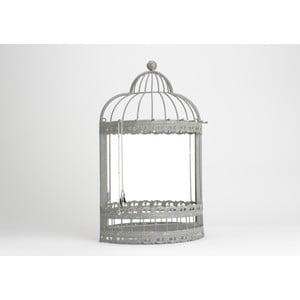 Zrkadlo so šperkovnicou Cage, 42x120 cm