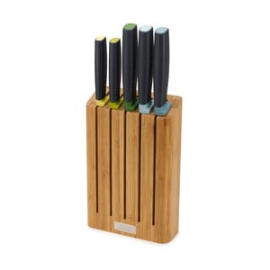 Sada nožov v bambusovom stojane Josoph Josoph Elevate