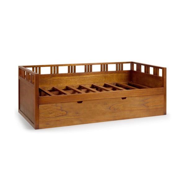 Posteľ Star s výsuvnou prídavnou posteľou, 90x200 cm