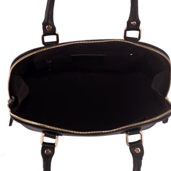Kožená kabelka Andrea Cardone 2025 Black