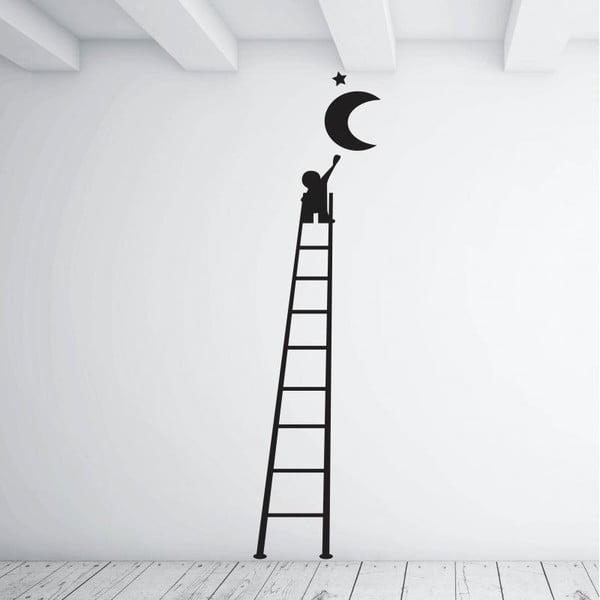 Samolepka na stenu Luna