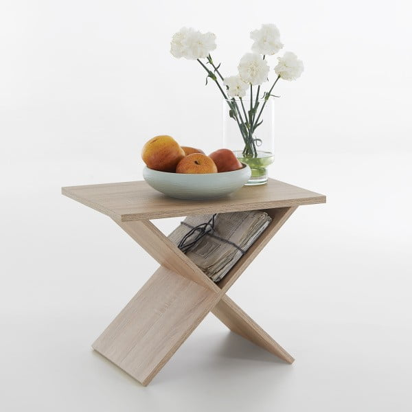 Odkladací stolík v dekore duba 13Casa Stark