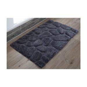 Kúpeľňová predložka Steine Anthracite, 60x100 cm