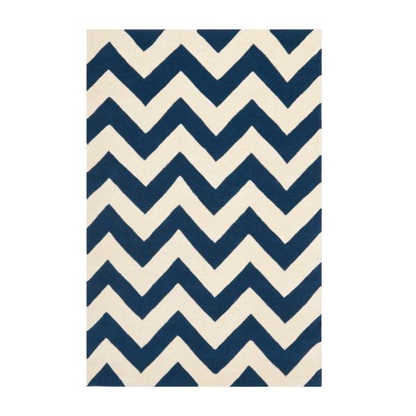 Vlnený koberec Crosby Black, 121x182 cm