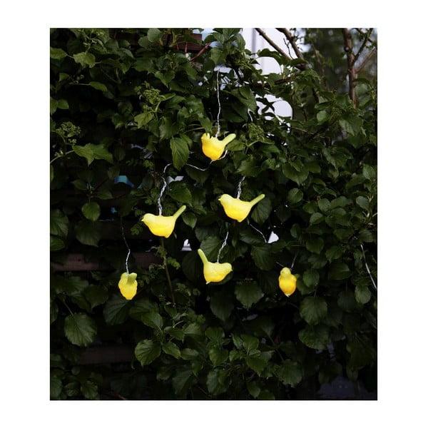 Solárna LED reťaz Best Season Fairy Birds, 6svetielok