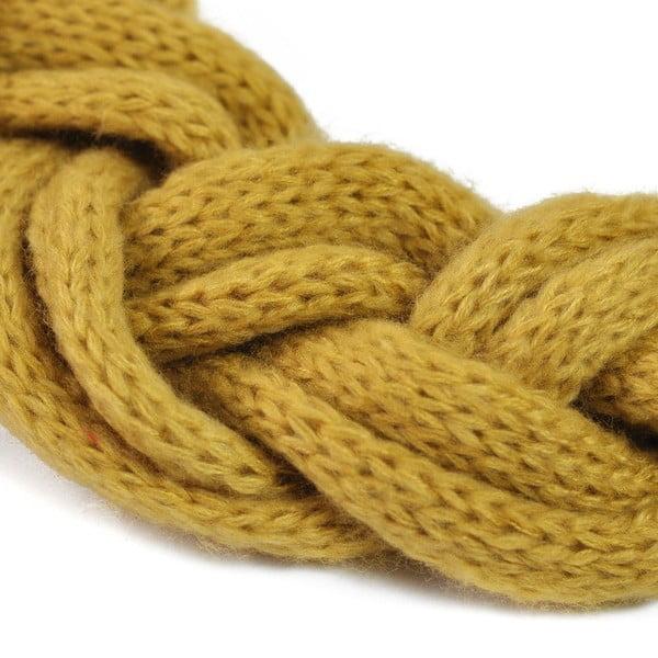 Kruhový šál Natte Yellow