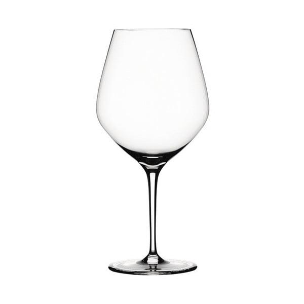 Sada 4 pohárov na červené víno Burgundy