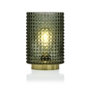 Zelená sklenená olejová LED lampa Versa Relax, ⌀12 cm