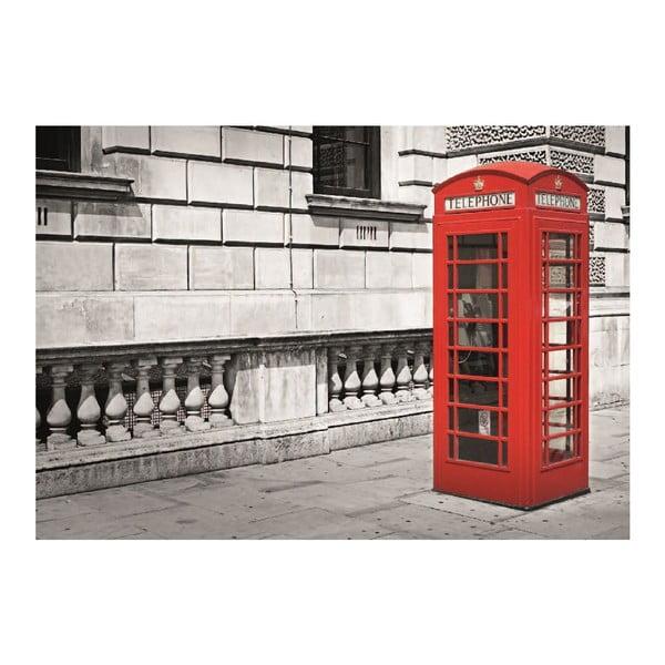 Veľkoformátová tapeta Londýnska búdka, 360x253 cm