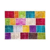 Vlnený koberec Allmode Kare, 180x120 cm