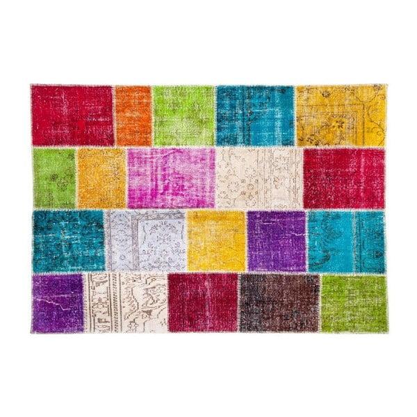 Vlnený koberec Allmode Kare, 200x140 cm