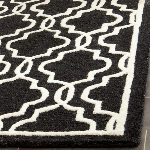 Vlnený koberec  Safavieh Elle Night, 121x182 cm