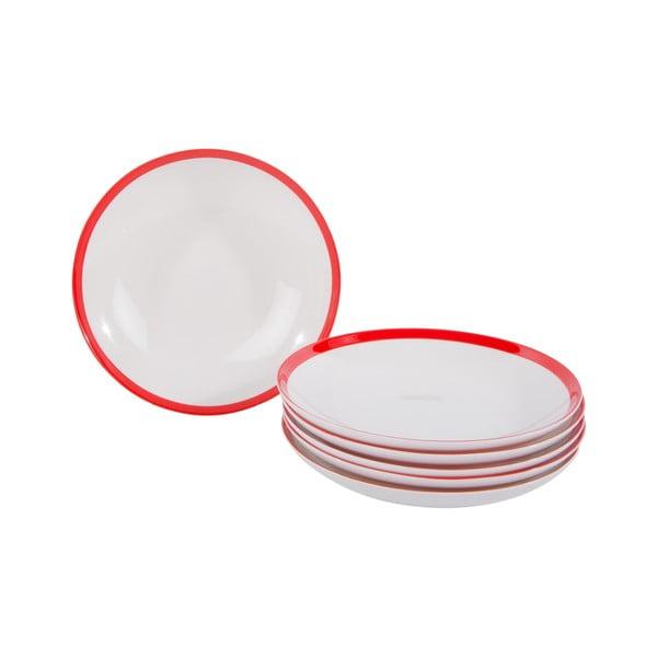 Sada 18 porcelánových tanierov China