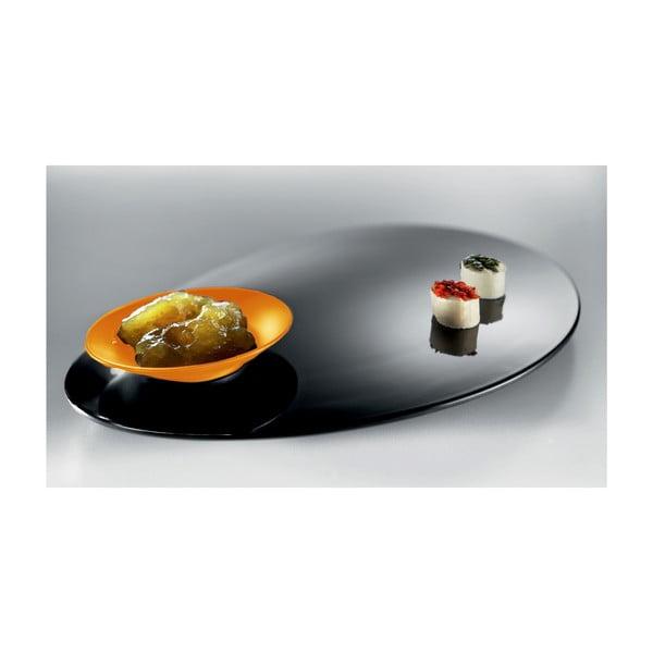 Oranžovo-čierny degustačný set Entity