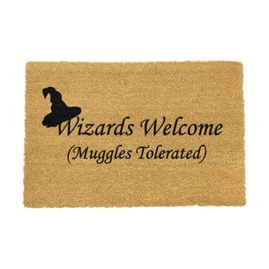 Rohožka Artsy Doormats Wizards Welcome, 40 × 60 cm