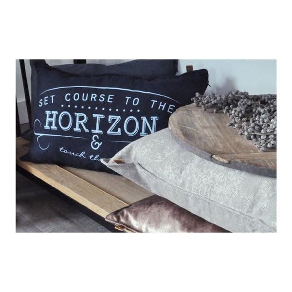 Krémový vankúš OVERSEAS Horizon, 40x60cm