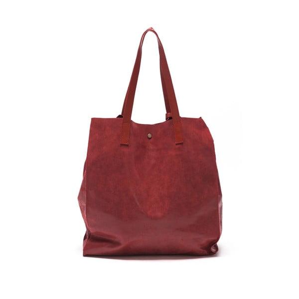 Kožená kabelka Renata Corsi 892 Rosso